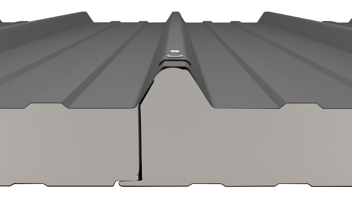 Sandwich Dach Befestigung der Platten