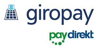 Bezahlart im Shop - giropay/paydirekt