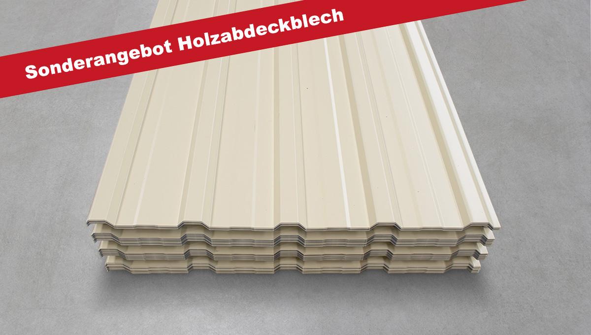 Holzpolterbleche Trapezprofil M 20/210 in 1,5 oder 2 m Länge